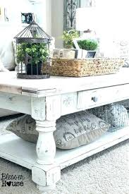 styling a round coffee table farmhouse style coffee table farm style coffee table the best beach
