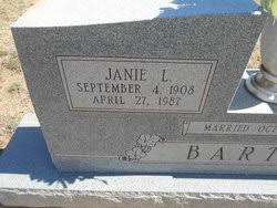 Janie L. Marshall Barton (1908-1987) - Find A Grave Memorial