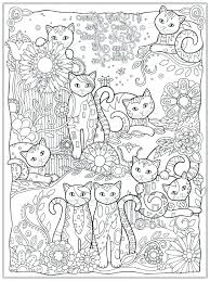 Cat Coloring Pages To Print Cat Printable Coloring Pages Cat