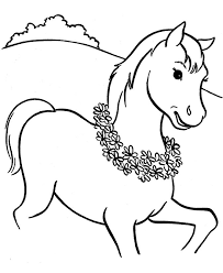 It helps to develop motor skills, imagination and patience. Printable Horse Coloring Pages Coloringme Com