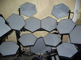 simmons drums. ahh...my dream electronic drum kit from 1988! the simmons sdx! drums