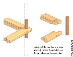 chinese chair construction and joinery building japanese furniture