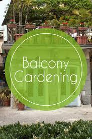 balcony gardens. Balcony Gardening Small Space Living Gardens