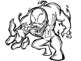 Venom Coloring Pages Venom Coloring Pages Spiderman Fighting Venom