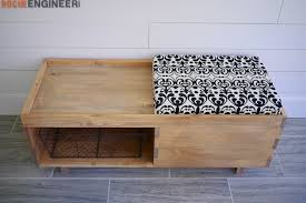 storage bench plans. Plain Bench DIY Storage Bench Plans  Rogue Engineer 3 To A