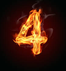 Image result for the number 4