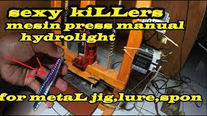 SEDERHANA <b>MANUAL hot stamping</b> foiL lure, <b>metal</b> jig ...