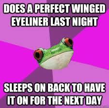 Foul Bachelorette Frog memes | quickmeme via Relatably.com