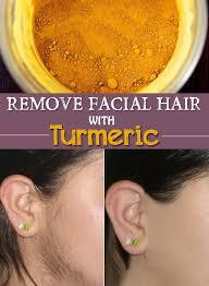 does turmeric stop hair growth