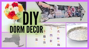 Diy 5 Easy Affordable Dorm Room Decor Ideas Youtube