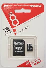 Купить <b>карта памяти smart</b> buy micro-sdhc 8 gb SB8GBSDCL10-01 ...