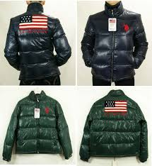 size 46 jacket in us mens us polo down jacket assn usa flag winter down jacket quilted