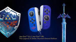 Skyward Sword Joy-Cons Revealed For ...