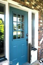 how to paint a wooden front door tips in painting exterior door breathtaking industrial front door