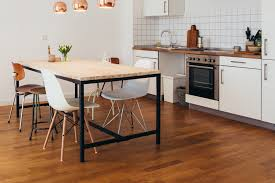 Types Of Kitchen Flooring Pros And Cons Contemporary Kitchen Contemporary Kitchen Flooring Ideas Flooring