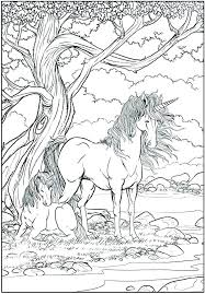 Cute Unicorn Coloring Pages To Color Online And Page Free Printable