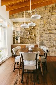 dining room playful modern vibe midcentury dining room has a cheerful modern ambiance photography matt