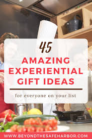 some of the greatest gifts aren t things instead they re been experiential gifts that can teach them something new enrich their lives