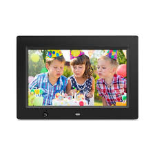 10 inch digital photo frame with motion sensor and 4gb built in memory front