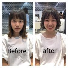 私って丸顔面長ベース型顔型の基準と顔型別似合う髪型の