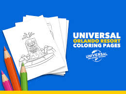 Their movie 'home' is funny, upbeat and just adorable. Universal At Home Coloring Pages Discover Universal