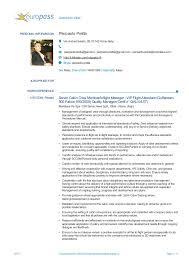 Curriculum Vitae PERSONAL INFORMATION Pierpaolo Pretta Via Andrea Solario,  89, 00142 Roma (Italy ...
