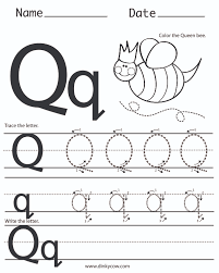 q free handwriting worksheet print