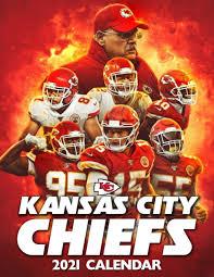 The kansas city chiefs are a professional american football team based in kansas city, missouri. Kansas City Chiefs 2021 Calendar Calendar City 9798583901289 Amazon Com Books