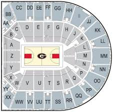 Uga Stadium Chart Ticket Office Official Athletics Site Of The University Of