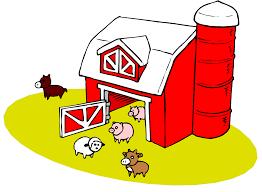 red barn clip art transparent. Barnyard Clip Art Red Barn Transparent