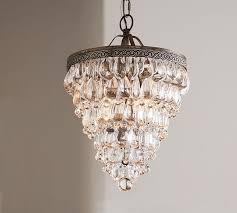 image chandelier lighting. Clarissa Crystal Drop Small Round Chandelier Image Lighting