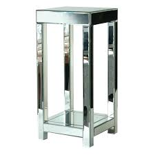 mirrored plant stands tall mirrored plant stand mirrored plant table