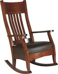 amish royal mission rocking chair