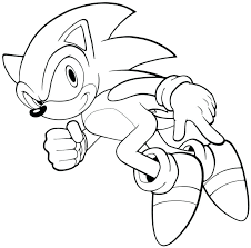 Sonic Hedgehog Coloring Pages Free Printable Sonic The Hedgehog
