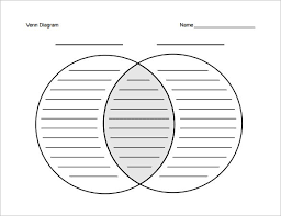 A Blank Venn Diagram 7 Blank Venn Diagram Templates Free Sample Example Format
