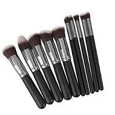 generic phenovo makeup brushes set tool pro foundation eyeliner eyeshadow black