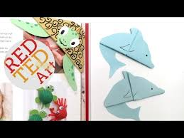 easy dolphin bookmark paper crafts