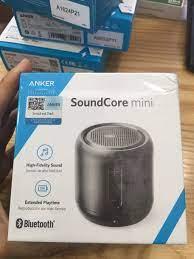 Loa Bluetooth Anker SoundCore Mini - A3101/Soundcore Mini 2 (A3107)  Bluetooth 4.0 15h nghe nhạc liên tục