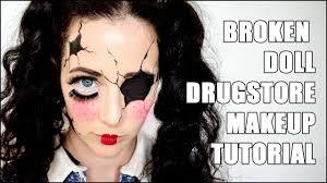 broken doll easy makeup tutorial