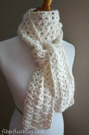 Crochet Patterns For Scarves Magnificent Fiber Flux Free Crochet PatternVanilla Bean Scarf