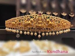 Vaddanam Designs 1 Gram Gold Online Shopping 4500 Beautiful One Gram Gold Vadanam With Lakshmi Devi
