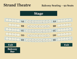The Strand Seating Chart Related Keywords Suggestions