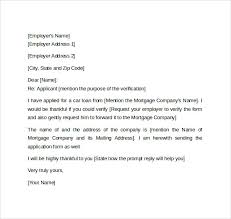 Awesome Collection Of Requesting Employment Verification Letter Enom