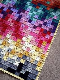 Easy Crochet Granny Squares Free Patterns Mesmerizing Amazing Pixelated Granny Squares Crochet Blanket Knit And Crochet