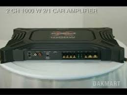 sony xm 1652z 2 channel 1000 watt 2 1 car amplifier xm1652z