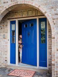 blue front doorNon Fade Front Door Paint  Modern Masters Cafe Blog