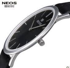 17 best images about slim watches skagen watches neos fashion ultra thin mens watch waterproof quartz watch leather strap watches