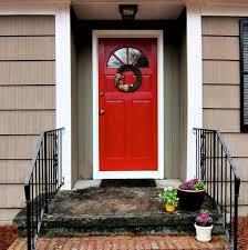 front doorred front door  Spoonful of Imagination