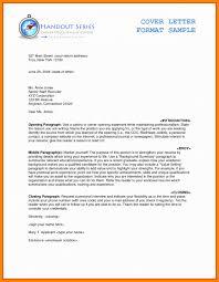 Resume Cover Letter Basics 2 Best Of Proper Resume Cover Letter With