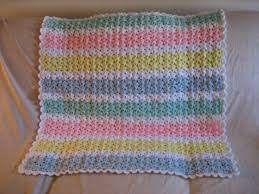 Baby Afghan Patterns Awesome Pastel Baby Afghan Pattern FaveCrafts